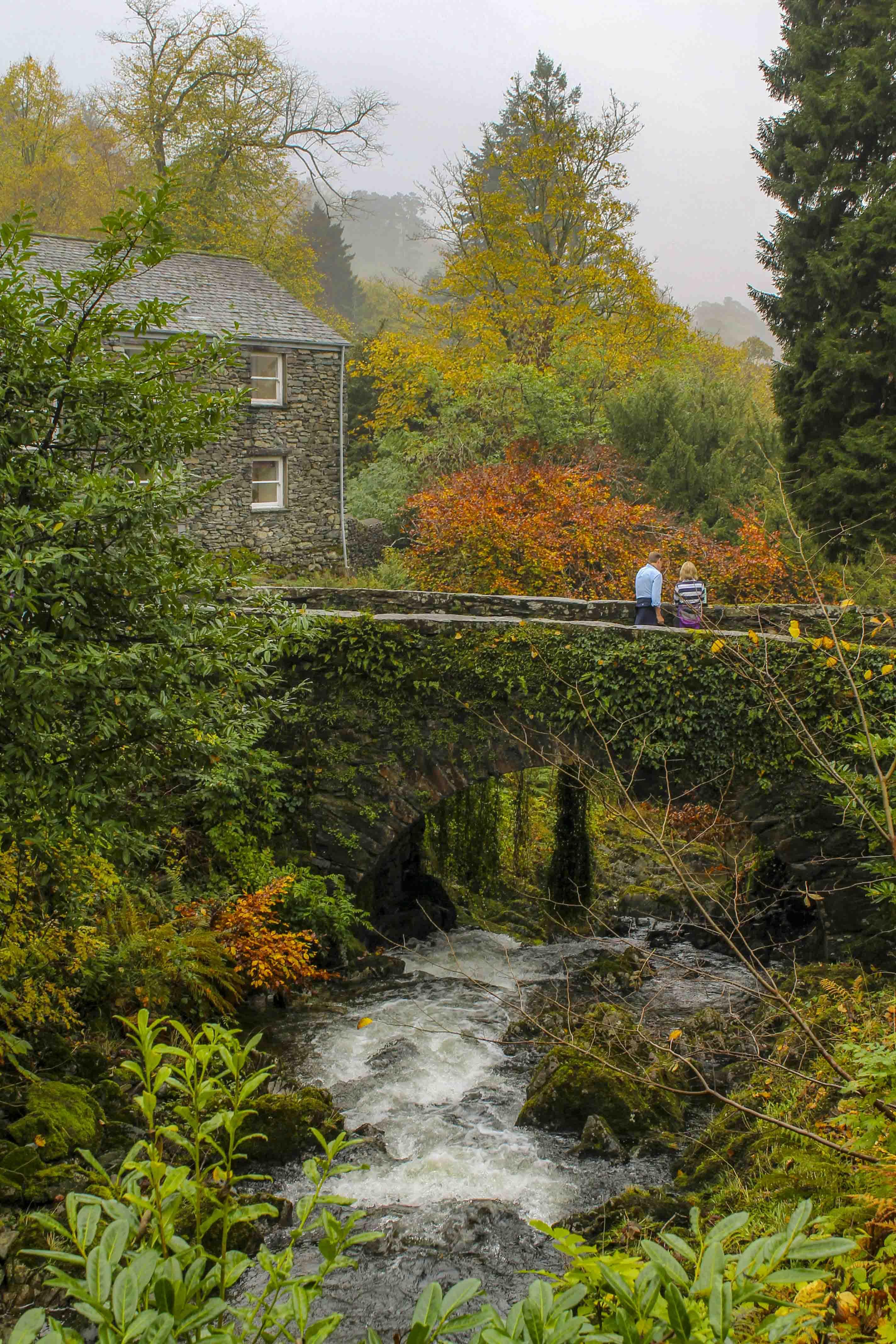 Charmant Engeland in Herfstkleuren