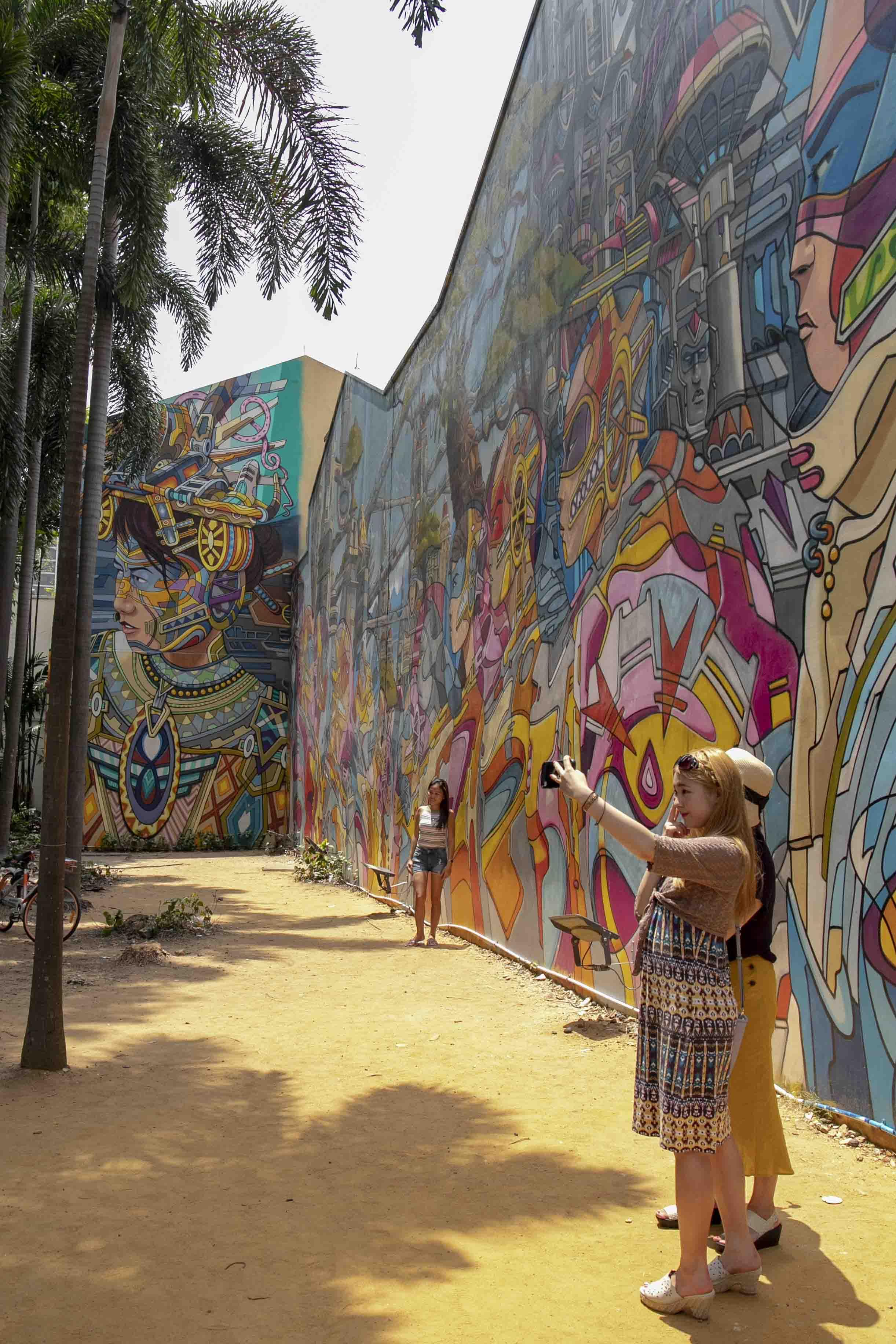 Streetart in Kampong Glam