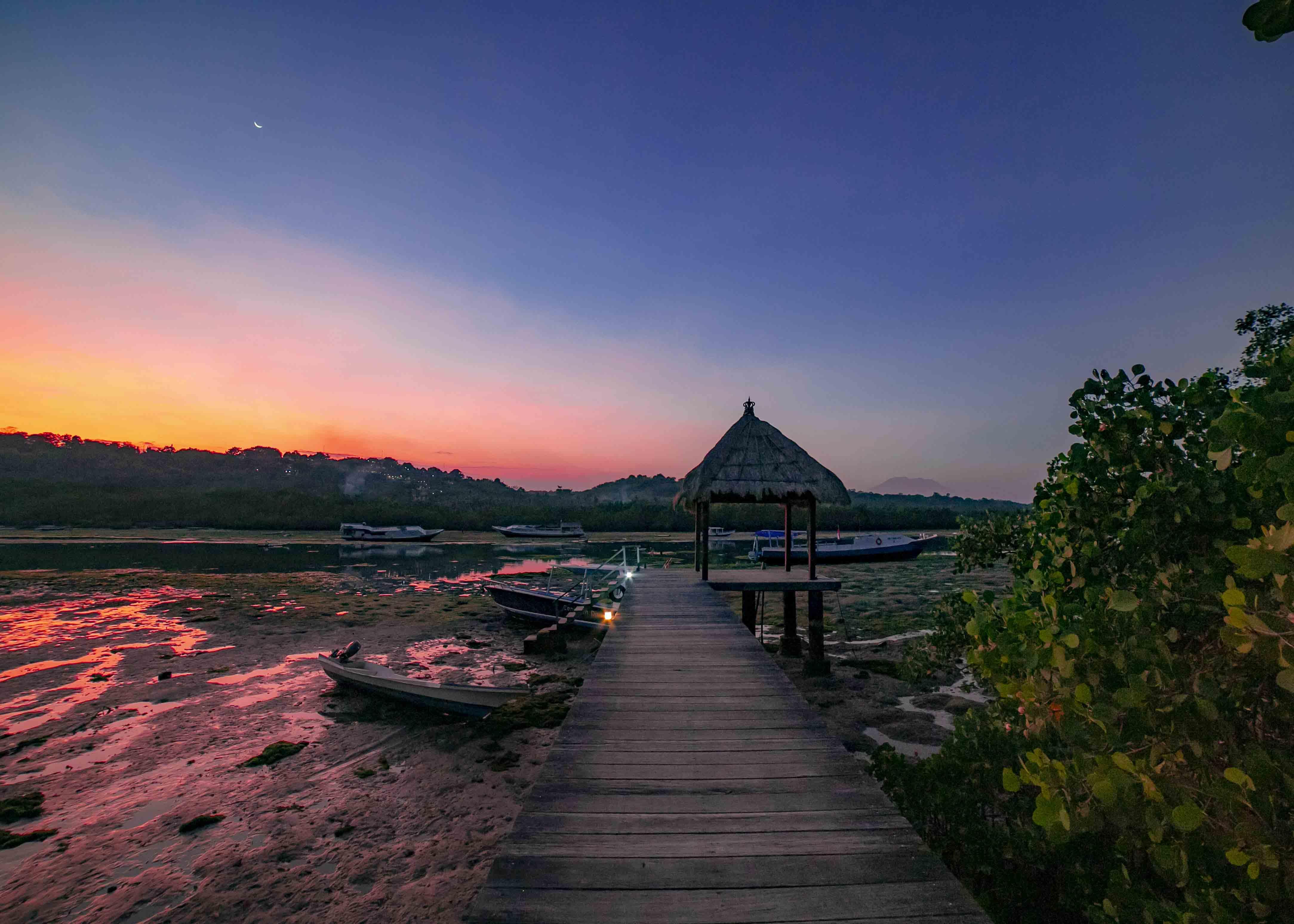 Ceningan Resort jetty