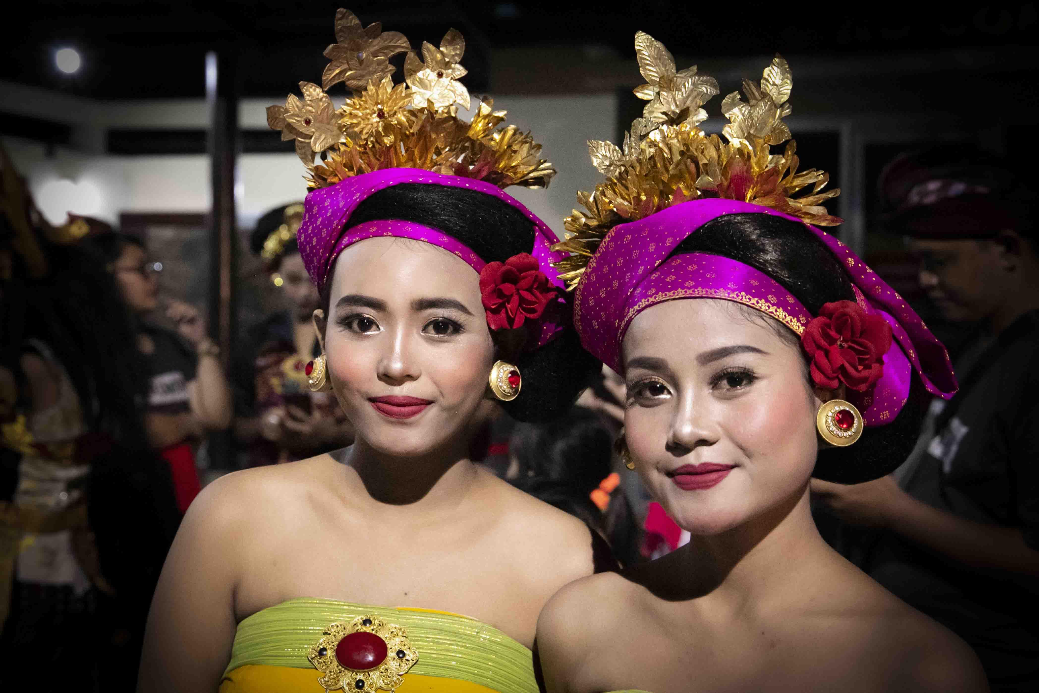 Uitgedost voor Balinees nieuwjaar