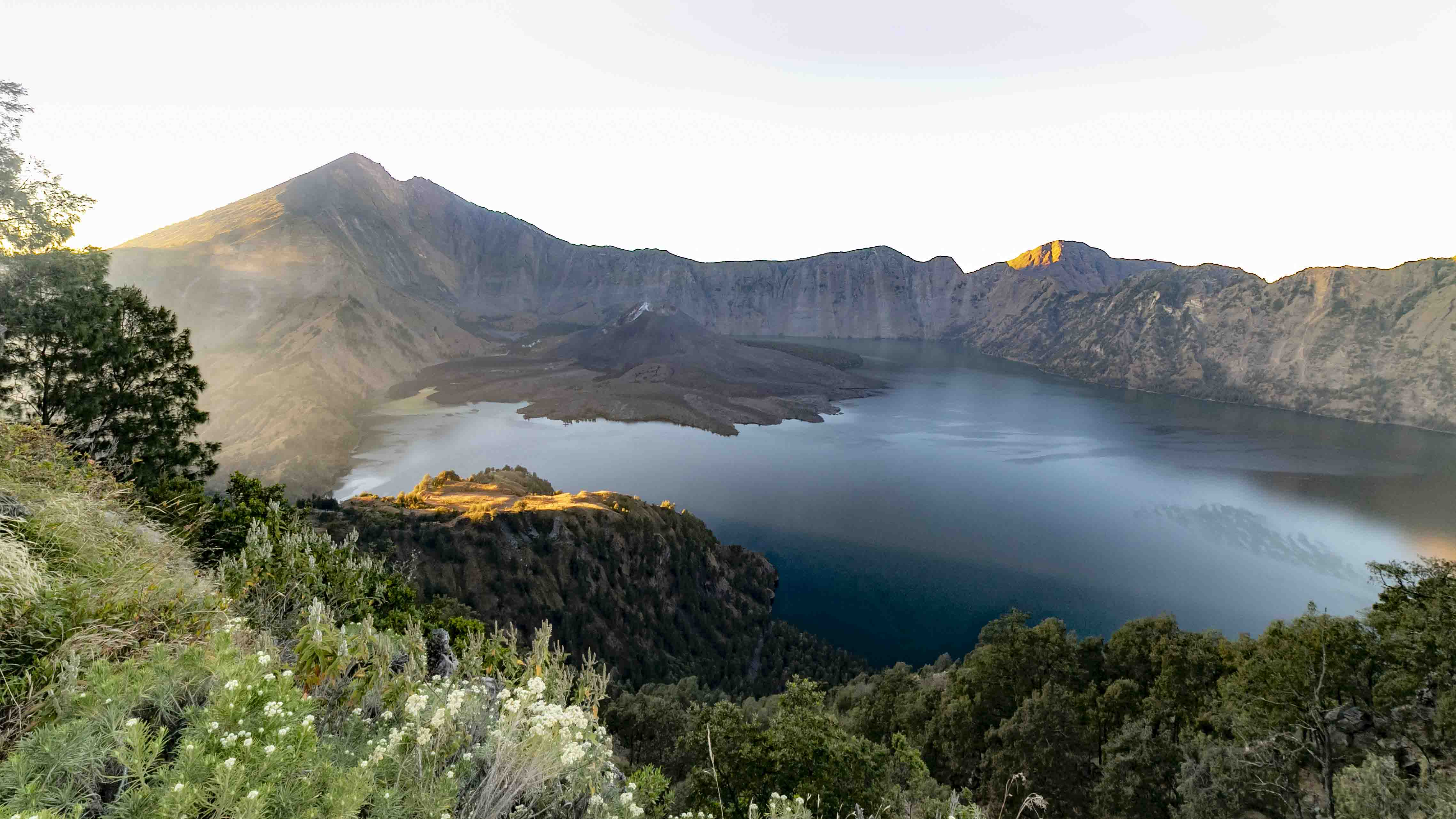 Mt. Rinjani at sunrise
